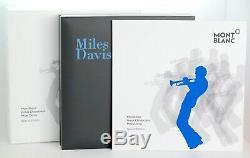 Neu Montblanc Miles Davis Füller Great Characters Fountain Pen Füllfederhalter