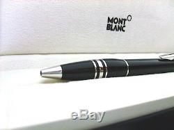 Neu Montblanc Starwalker Kugelschreiber Platinum Resin Ballpoint Pen Kuli 8486