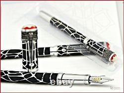 New Montblanc Heritage Rouge et Noir Spider Metamorphosis LE1906 Fountain Pen