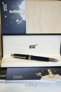 New Montblanc Le Petit Prince & Fox Classique LeGrand Fountain Pen 118052