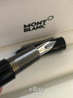 New Montblanc Marc Newson Fountain Pen Medium M113618 AUS Stock