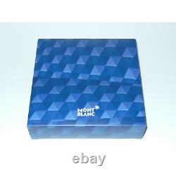 NewithOS Montblanc Meisterstuck Solitaire Blue Hour Midsize Ballpoint Pen 112891