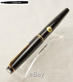 Old Montblanc Piston Fountain Pen 22 with OM Nib