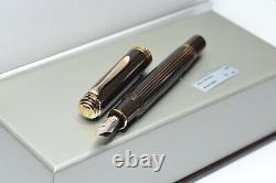 Pelikan M800 Souverän Fountain pen Brown-Black (piston mechanism)