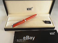 Penna a Sfera Montblanc Pix Red Corallo Ref 114814 Nuova con Garanzia