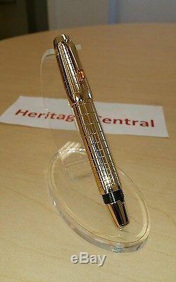 RARE Montblanc Boheme Solitaire 18K Gold Fountain Pen NEW! Stunning! L@@K