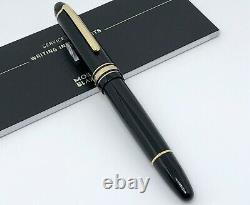 Rare Montblanc Meisterstuck 146 LeGrand Fountain Pen 18K Gold Nib