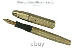 Rare Montblanc Sarastro N 20 Solid Gold Overlay Safety 1920