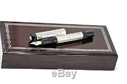 Rare New Montblanc Lorenzo De Medicis Patron Of Arts Le Fountain Pen Complete