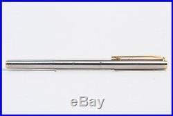 Stahl & Gold MONTBLANC fountain pen NOBLESSE mit weicher 14c 585 M Flügel Feder