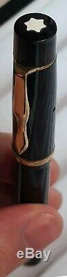 Stilografica Montblanc Meisterstuck 134 Anni 40 Pennino Dorato