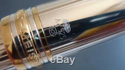 Stylo plume 146 Solitaire argent massif 925 MONTBLANC plumeMorAu585. N°RCNH3CX