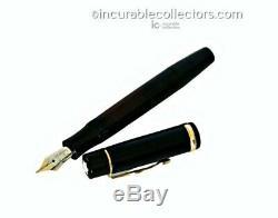 VINTAGE MONTBLANC MEISTERSTUCK N138 Gold Nib Fountain pen 1930s