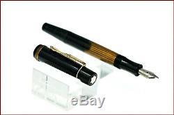 VINTAGE UNINKED MONTBLANC MEISTERSTUCK N134 Metal Nib War Time Fountain pen OB