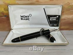 Vintage 1970's MONTBLANC Meisterstuck14C Gold nib 149 Fountain Pen