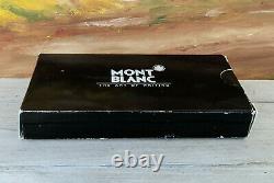 Vintage 1980's MONTBLANC Meisterstuck No. 149 Fountain Pen 14C Nib, NOS