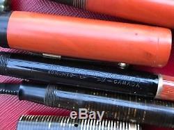 Vintage Fountain Pens Montblanc Waterman's Parker Lot 14 K Nibs Parts