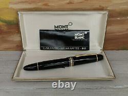 Vintage MONTBLANC Meisterstuck F 14C Nib No 149 Fountain Pen