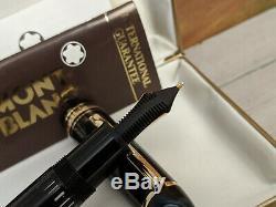 Vintage MONTBLANC Meisterstuck M 14C Gold nib 149 Fountain Pen, NOS
