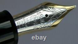 Vintage Mont Blanc 149 meisterstuck fountain pen Mint 18k Nib