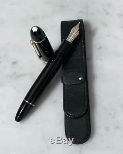 Vintage Mont Blanc Meisterstuck Fountain Pen No. 149 -14K Nib -Vintage