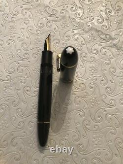 Vintage Montblanc Meisterstuck 149 FP 18k Nib