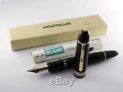 Vintage Montblanc Meisterstück 149 Fountain Pen-18K Nib-Germany 1960s