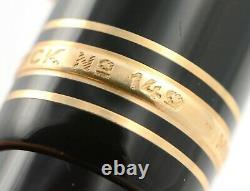 Vintage Montblanc Meisterstück 149 Zigarre fountain pen 14 karat gold nib B