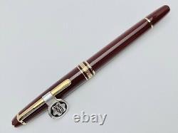 Vintage Montblanc Meisterstuck No. 144 Fountain Pen in Bordeaux Color 001