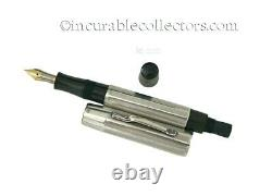Vintage Montblanc N 232 Silver Overlay Fountain Pen 1920